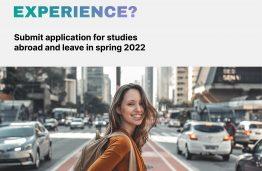 Spend all spring semester abroad: Erasmus+ exchange.